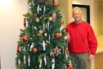 Tree ornaments support Orillia hospital