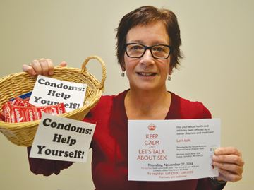 Barrie nurse talking sex with cancer patients