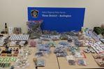 Burlington marijuana dispensary raided, pot and cash seized