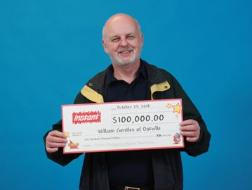 Oakville resident $100K richer from instant scratch ticket