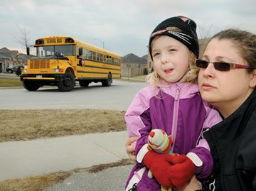 School bus stop mix-up prompts call for changes