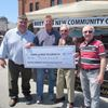 Resident makes annual donation to Beeton arena fund
