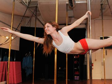 Pole dancer finds confidence, success in new endeavour