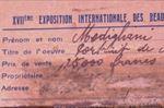 Modigliani label