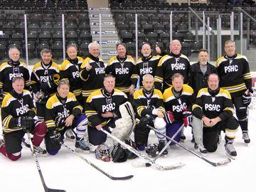 Peterborough Senior Men hockey team wins gold at Winter Games