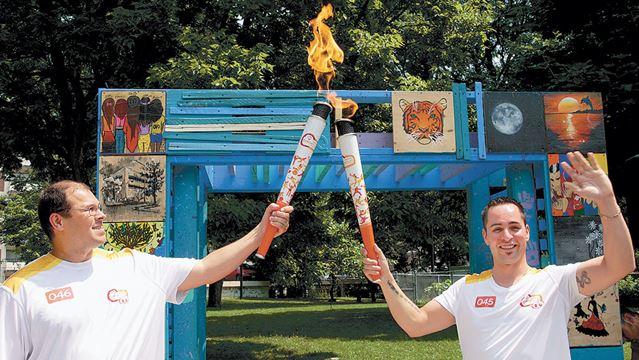 Pan Am Games Torch Relay