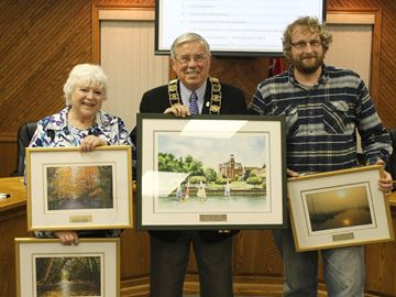 Outgoing Meaford councillors honoured