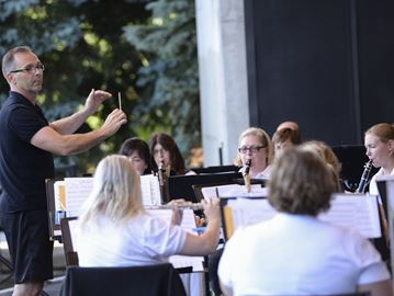 Oakville Wind Orchestra Summertime Music concert series on until Aug. 12