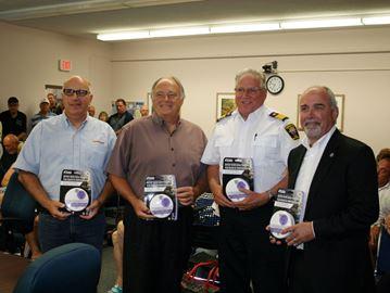 Enbridge Gas helps Penetanguishene, Tiny fire departments with donations