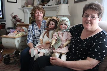 Collectors on look out for history behind dolls