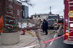 Firefighters investigate odours at Waterdown's Memorial Hall