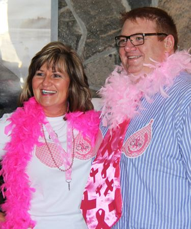 HAMMING IT UP FOR A CURE