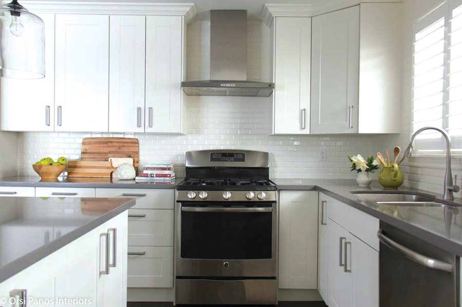 Family kitchen reno on a budget for Kitchen cabinets york region