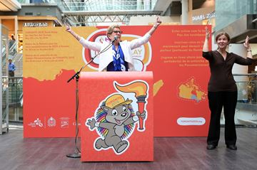 Toronto 2015 Pan Am Games Torch Relay announcement