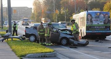 Guelph Transit collision