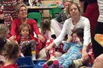 Premier joins pyjama party