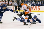 FLYERS DOWN LEAFS