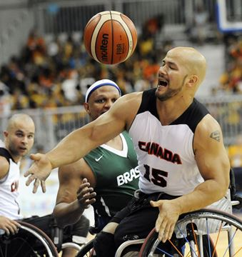 Canadian men's wheelchair basketball team advances to gold ...