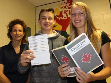 Stayner high school students ready to cast their ballots