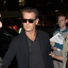 Pierce Brosnan stopped at airport with knife-Image1