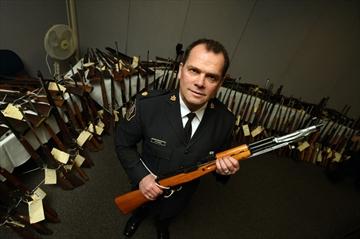 Guns handed in