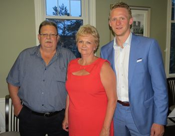 Photo of Corey Perry & his  Mother  Nancy Perry