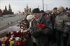 Russia Nemtsov flowers