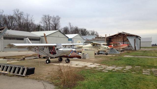 Windstorm cut power to 3,800 Burlington Hydro customers, damaged airpark