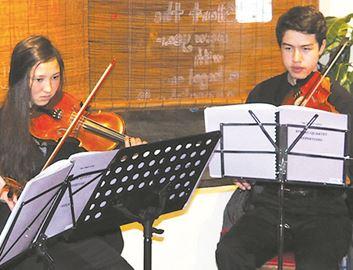 Strings, keys produce beautiful music at Gaia Java