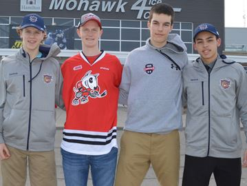 Huskies drafted by OHL