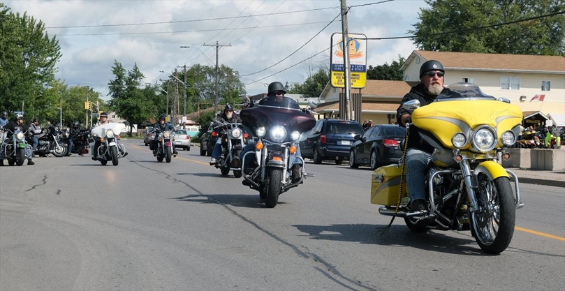 Biker dice run in Welland raises funds for Hospice Niagara