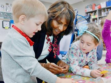 Minister goes to school in Bradford
