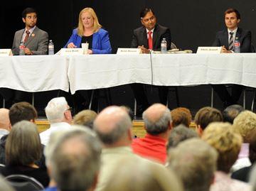 Milton candidates face tough questions at public forum