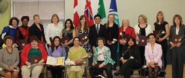 Ottawa Centre MPP Yasir Naqvi recognizes 18 women and girls who have made a positive difference in their community on April 12, . Established in 2006, Ontario's Leading Women-Leading Girls, Building Communities Award celebrates women whose leadership has improved the lives of others in their communities. This year, 92 women from across the province received the award.
