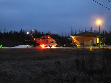 Ornge Training Landing