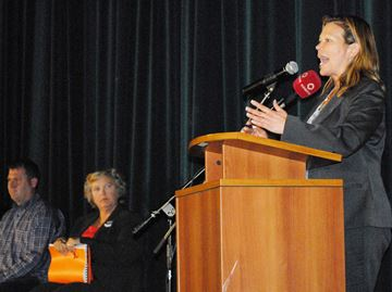 Candidates spar at final election debate