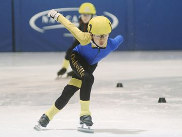 Oakville speed skaters at Canada Winter Games trials this weekend
