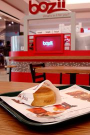 Bozii offers hand-held pocket sandwiches filled with everything from butter chicken to chocolate chip cookie dough.