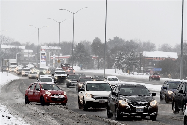 Brampton and Mississauga to get a blast of winter today