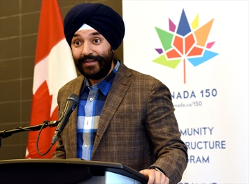 Navdeep Bains, Mississauga-Malton MP and Minister of Innovation, Science and Economic Development, who is also responsible for FedDev Ontario, says the funding for makerspaces and outdoor trails helps boost economic activity and maintain a high quality of life.