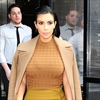 Kim Kardashian's lips swell during pregnancy -Image1