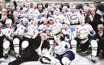 Overtime win gives Canadians first CCHL title– Image 1