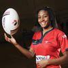 Christina Branch ball toss