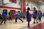 Local elementary schools compete in catchball tourney