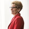 Premier Kathleen Wynne congratulates Patrick Brown on Simcoe North byelection victory