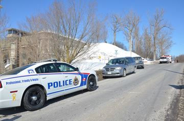 Hunter Street closed at Peterborough Liftlock for police investigation