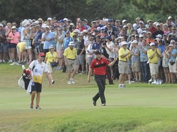 Fans get behind du Toit's amazing run at RBC Canadian Open