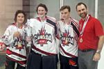 Inline hockey trio champs in Hawaii