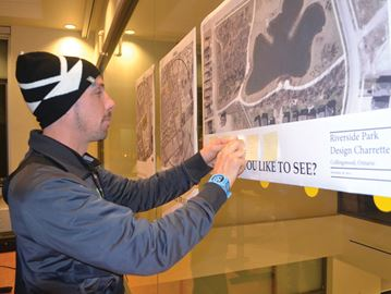 Collingwood residents have their say on Riverside Park planning