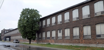 The old Studebaker factory photo